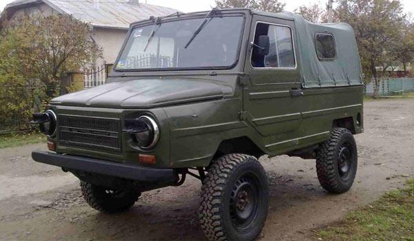 Автомобиль ЛуАЗ история фото